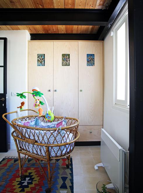 וחדרו של הבן התינוק (צילום: סוזי לוינסון)