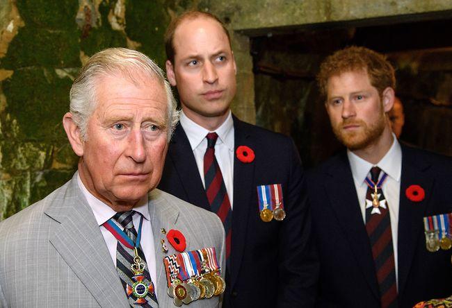 הצליחו להתגבר על הנתק. הנסיך צ'ארלס ובניו (צילום: Gettyimages)