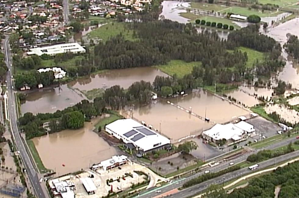 גשם ו הצפות ב מזרח אוסטרליה ניו סאות' וויילס  ו קווינסלנד  (צילום: AP)
