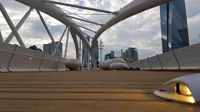 גשר יהודית תל אביב  (צילום: קבוצת אורון אחזקות והשקעות)
