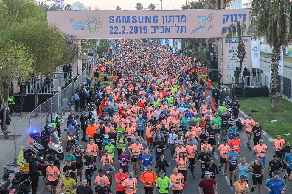 מרתון סמסונג תל אביב (רונן טופלברג)