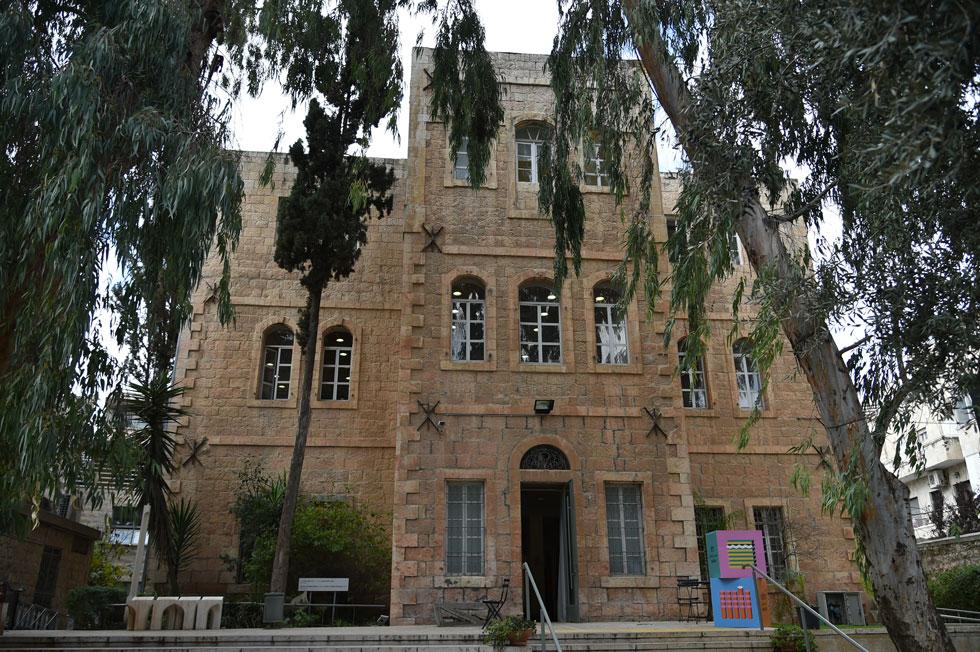 בניין המחלקה לאדריכלות בבצלאל נמצא בבניין אבן עתיק במרכז ירושלים, בשונה משאר מחלקות האקדמיה (צילום: יואב דודקביץ)