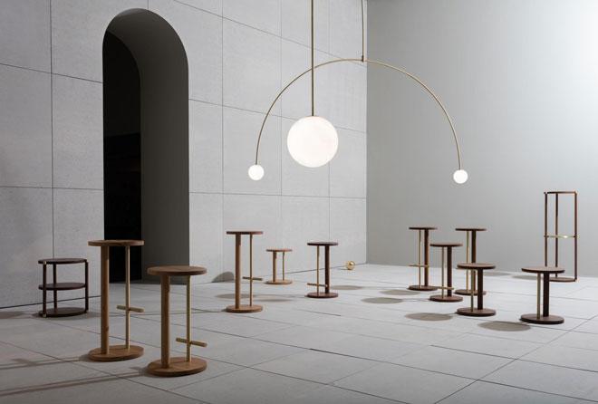 קולקציה של מייקל אנסטסיאדס (Michael Anastassiades), שזכה בפרס מעצב השנה, לחברת ''הרמן מילר''