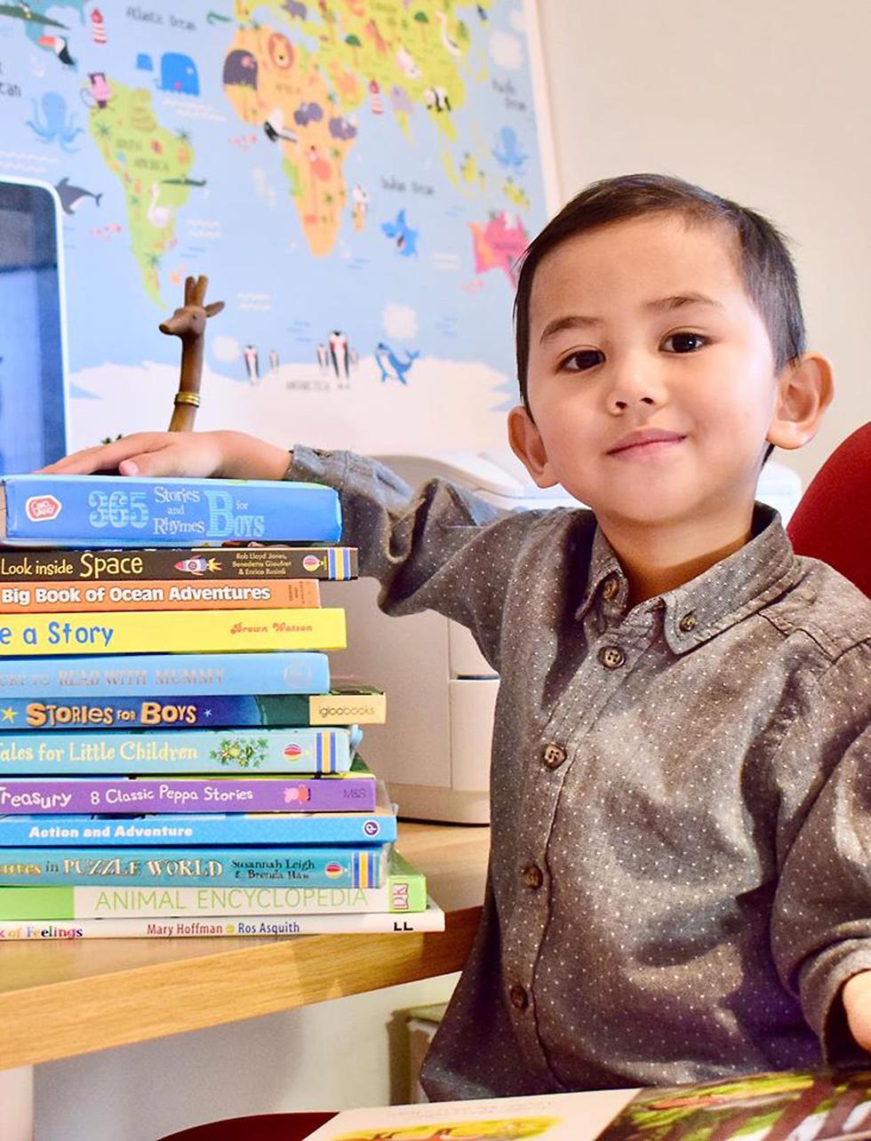 בן 3 גאון מנזה מוחמד חריז נדזים ()