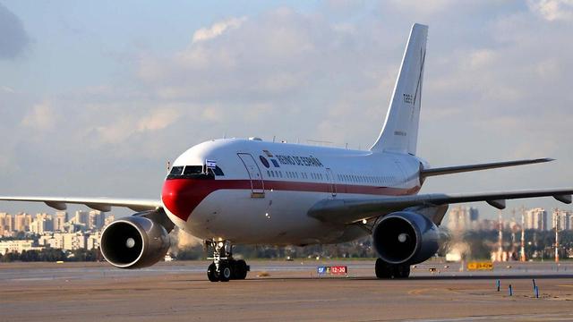 ספרד מטוס מטוסים נחיתה ב נתבג נתב