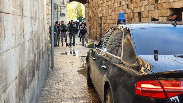 היערכות משטרה ירושלים  (צילום: דוברות המשטרה)