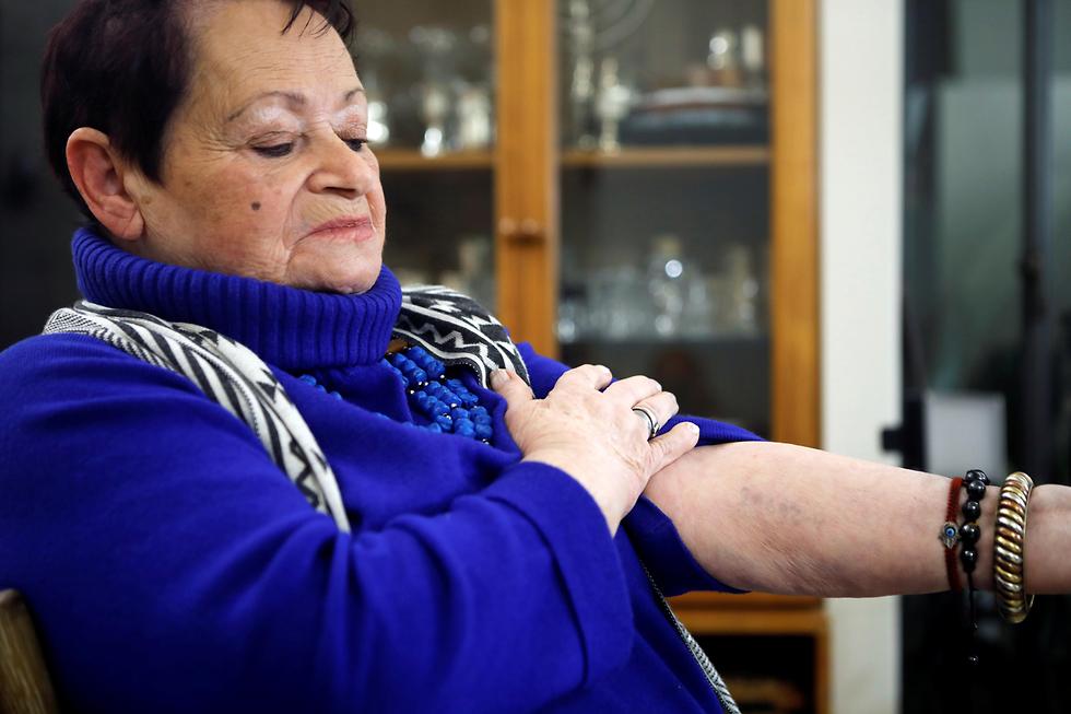 ניצולת שואה אושוויץ ורה גרוסמן (צילום: רויטרס)