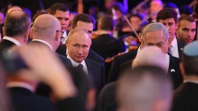 Путин на открытии мемориала. Фото: Амит Шааби
