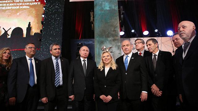 Участники церемонии. Фото: Амит Шааби