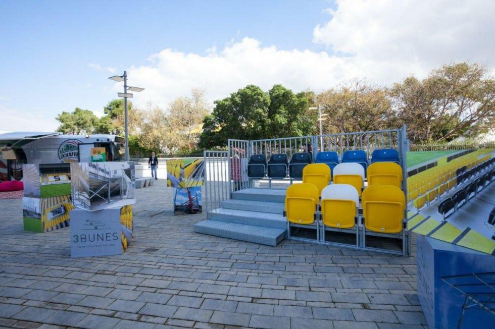 אוטובוס שירות 'המועצה עד אליך' הנוסע בין הישובים לאורך השבוע ומנגיש לתושבים את כל השירותים המוניציפאליים הדיגיטליים.  (צילום: יח
