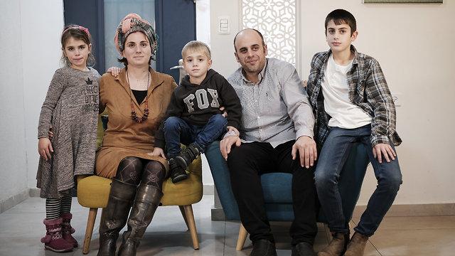 משפחת פודר (צילום: אסי חיים)