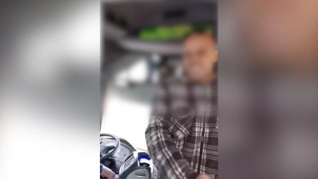 נוסע מתנהג באלימות נוראית לנהג בקו 190 של אגד ()