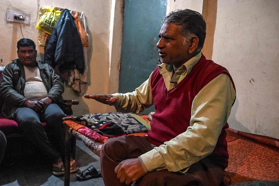 אונס הודו פוואן קומאר ה תליין שיוציא להורג את ארבעת האנסים הרוצחים (צילום: AFP)