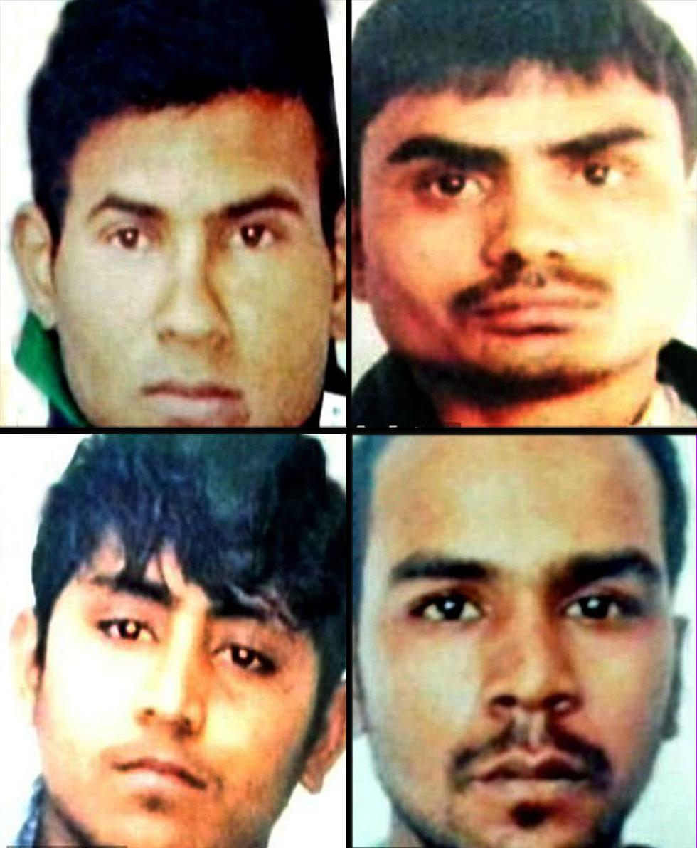 אונס הודו פוואן קומאר ה תליין שיוציא להורג את ארבעת האנסים הרוצחים ()