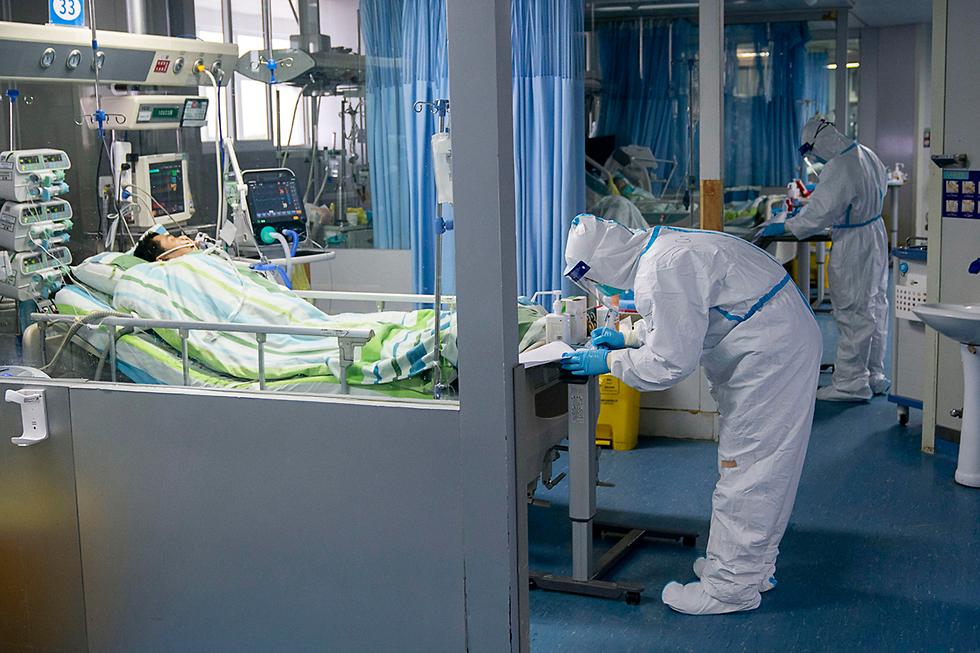 וירוס קורונה בסין (צילום: AP)