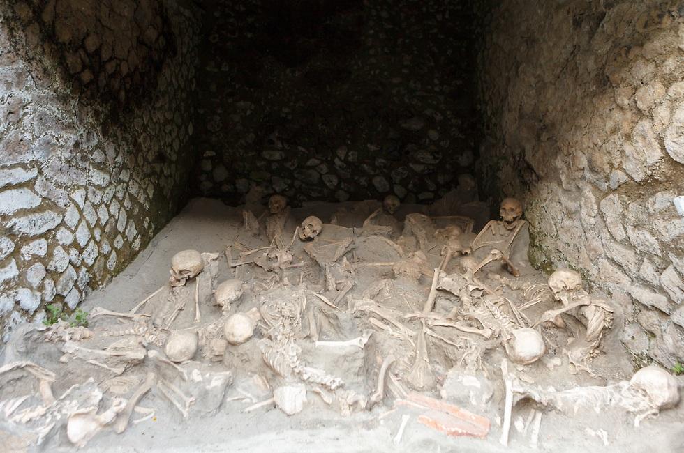 שרידי העיר הרומית הרקולנאום (צילום: shuttersotck)