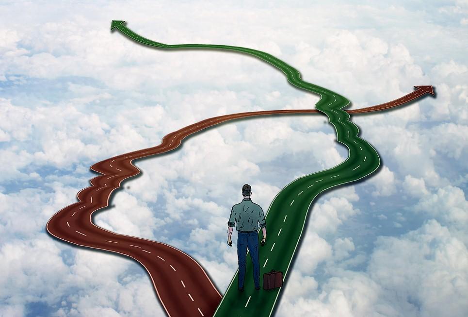 כיוון דרך בחיים (צילום: shutterstock)