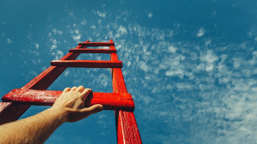 שאיפות עצמיות בדרך למעלה (צילום: shutterstock)