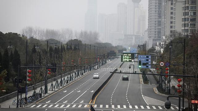 סין ווהאן רחובות ריקים נגיף סיני קורונה (צילום: gettyimages)