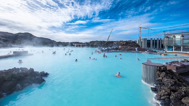 איסלנד הלגונה הכחולה רעידות אדמה (צילום: shutterstock)