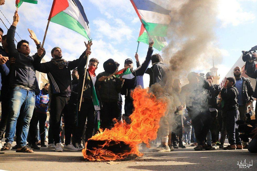 Демонстрации в Газе