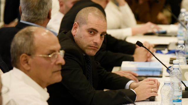 ועדת הבחירות בדיון על פסילת חברי כנסת (צילום: שלו שלום)