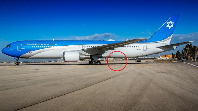 מטוס ראש הממשלה המריא הבוקר לטיסת המבחן השלישית (צילום: עידו וכטל)