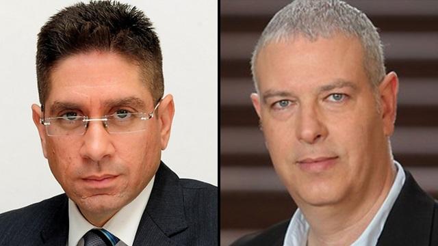 מימין: רוני כהן, מנכ