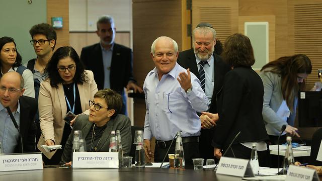 На заседании комиссии. Фото: Амит Шааби