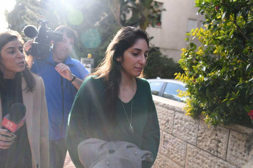Наама возле дома. Фото: Яир Саги
