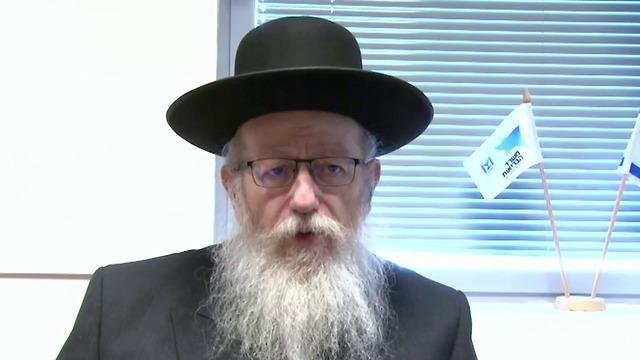 יעקב ליצמן ראיון אולפן  (צילום: אלכס גמבורג)