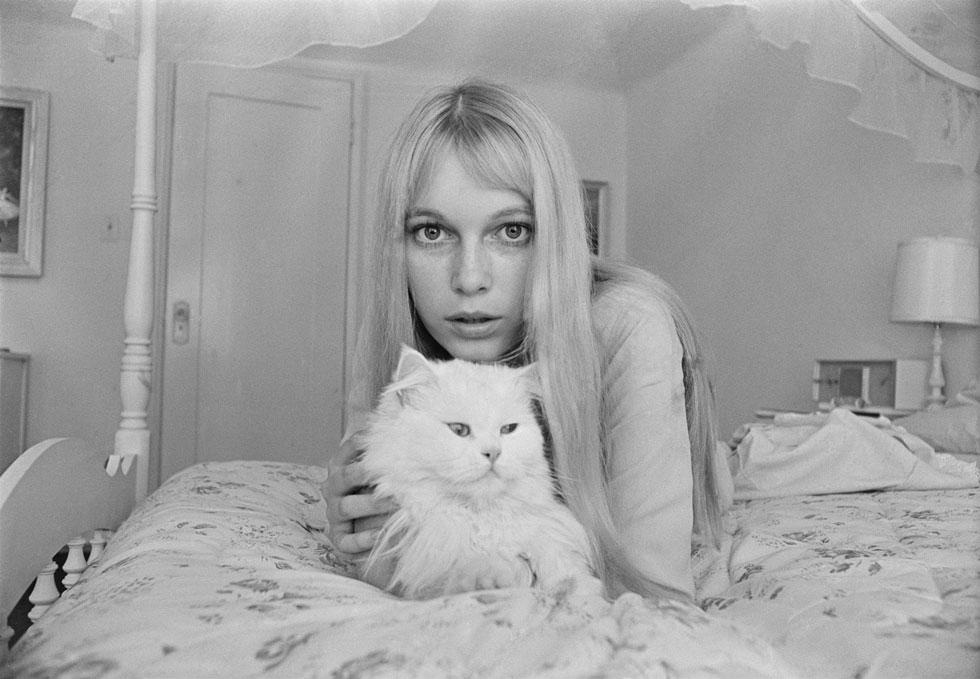 העיניים הגדולות, הרזון – לרוב היא נראתה כמו חתול עזוב שמתבקש להאכיל אותו כמו שצריך (צילום: Harry Benson/GettyimagesIL)