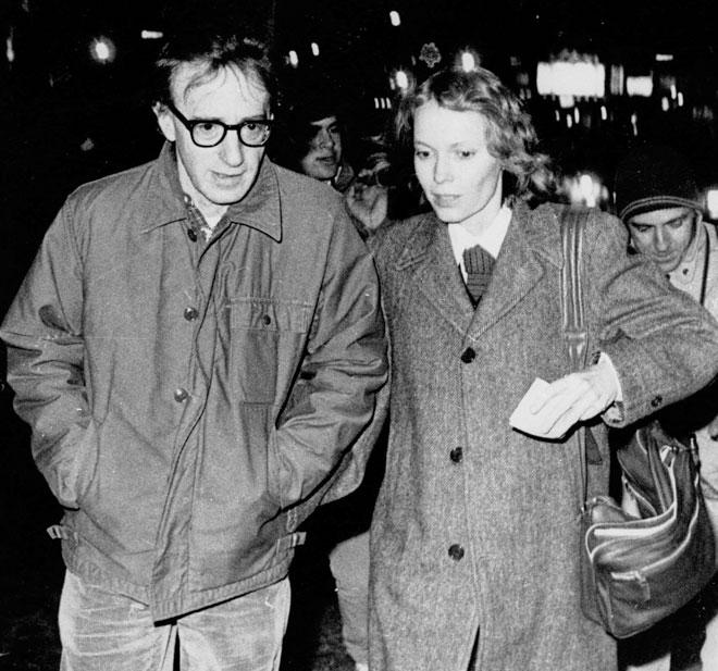 עם וודי אלן, 1984 (צילום: AP)