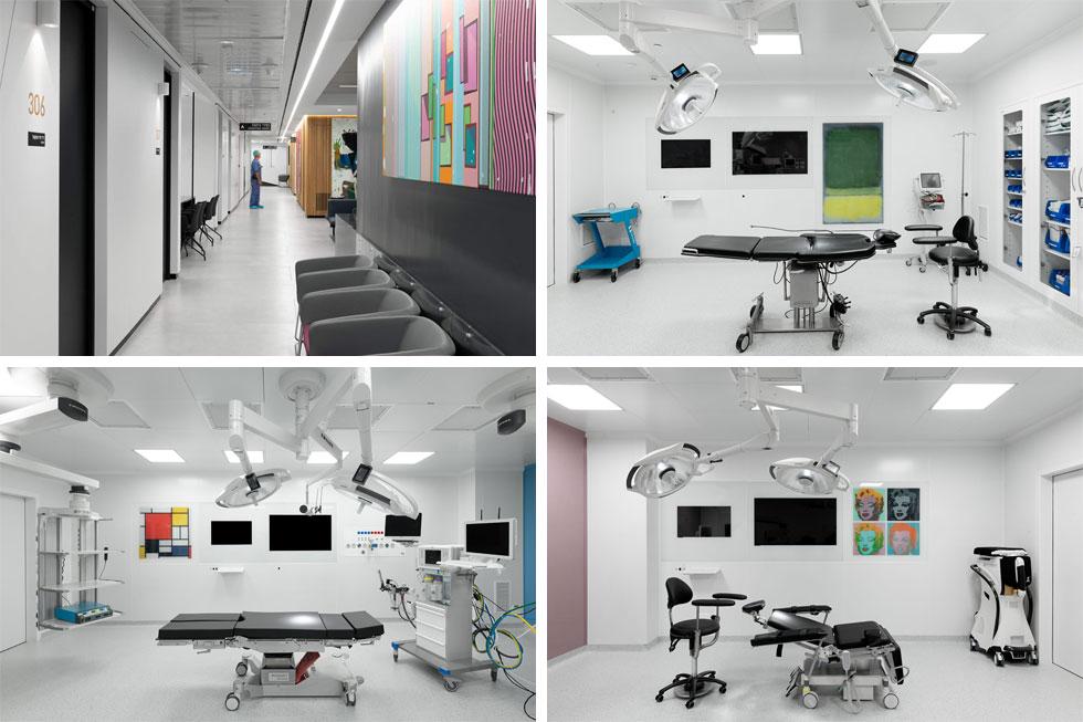 הרופאים שוכרים את השטחים כמו בחללי עבודה שיתופיים, ומקבלים את השירותים הרפואיים שנחוצים להם (צילום: גדעון לוין, סטודיו 181 מעלות)