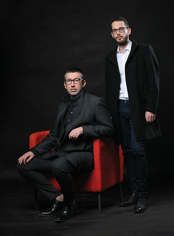 אלעד ודניאל זקצר (צילום: טל שחר)