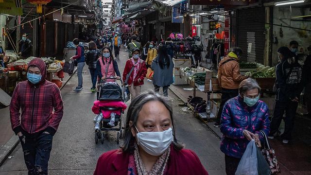 נגיף קורונה סין בתי קזינו ו רחובות ב מקאו (צילום: gettyimages)