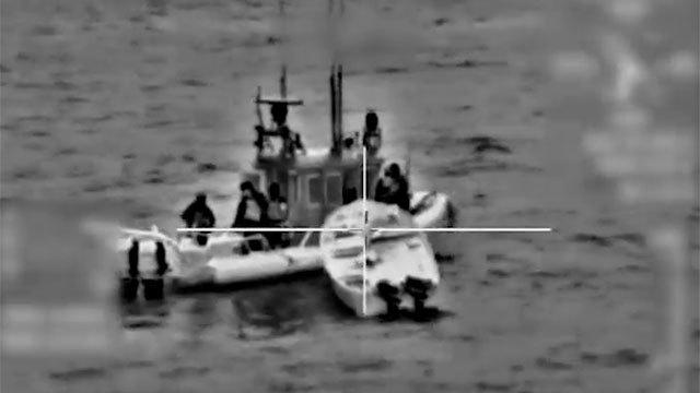 סיכול יסיון הברחת אמצעי לחימה לרצועת עזה של כוחות זרוע הים בשיתוף כוחות שב