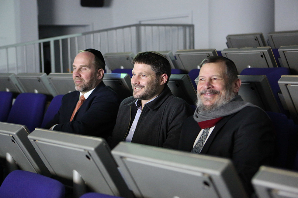 רכילות עסקית אורי לופליאנקסי, בצלאל סמורטיץ', משה כהן (צילום: קובי הר צבי)