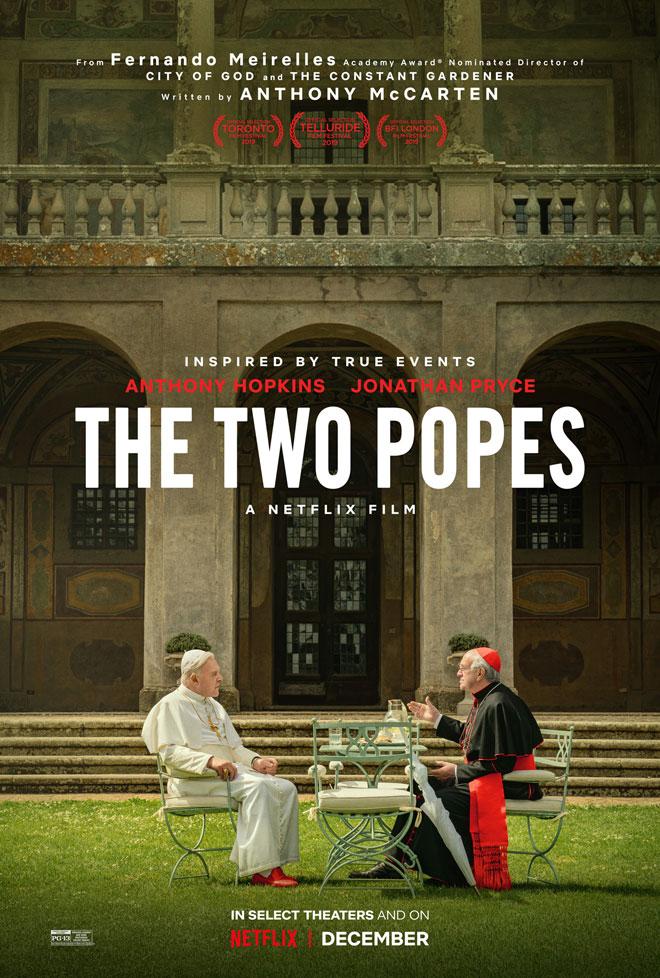 צילום נהדר, קומפוזיציה מבריקה, בחירה מקורית במיוחד. האפיפיורים