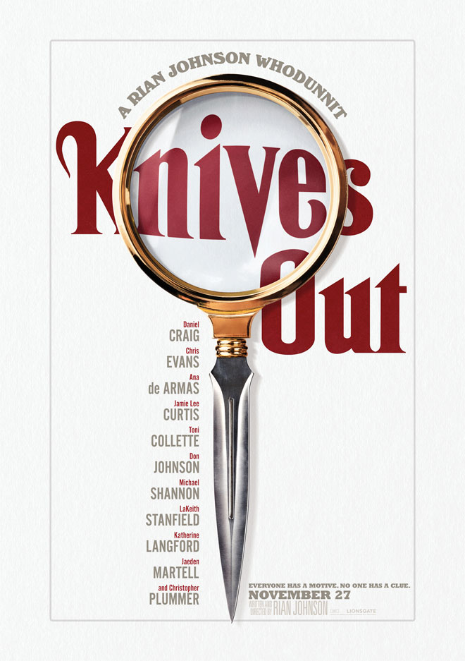 הכלאה של זכוכית מגדלת וסכין קטלנית. רצח כתוב היטב