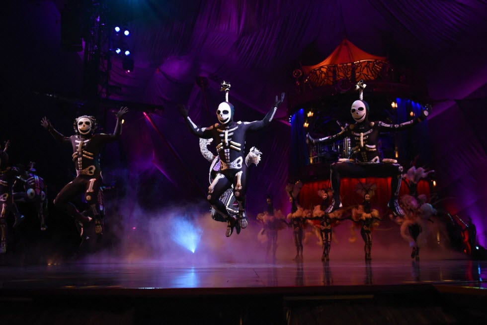 Cirque du Soleil (צילום: באדיבות Cirque du Soleil)