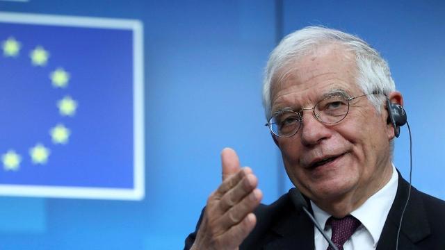 ג'וזף בורל שר החוץ של האיחוד האירופי (צילום: רויטרס )
