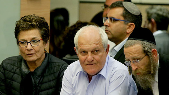 Заседание комиссии по неприкосновенности Хаима Каца. Фото: Амит Шааби