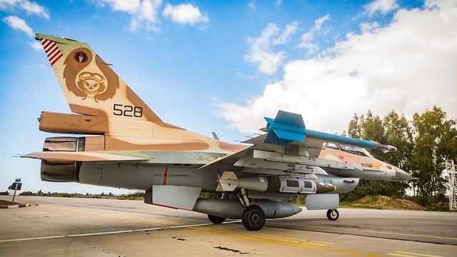 מטוסי חיל האוויר לאחר שובם לפעילות מבצעית (צילום: דובר צה