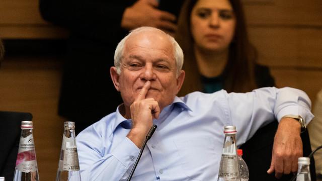 Хаим Кац на заседании комиссии. Фото: Шалев Шалом
