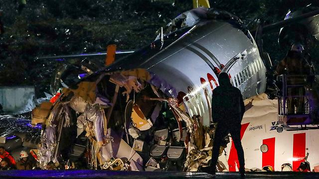 מטוס נוסעים (צילום: AFP)