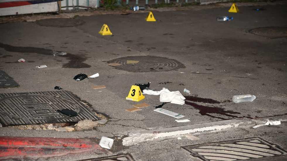 פיגוע דריסה ברחוב דוד רמז בירושלים  (צילום: יואב דודקביץ)