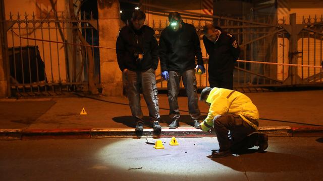 זירת הפיגוע בירושלים (צילום: AP)