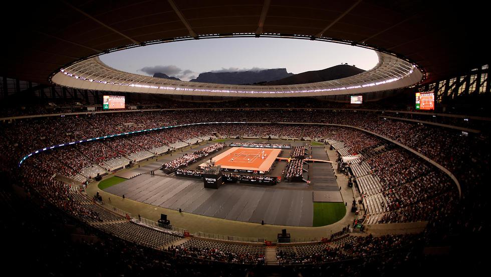 האצטדיון בו נערך המשחק (צילום: רויטרס)