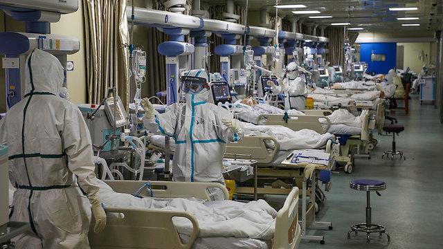 ווהאן בית חולים נגיף וירוס קורונה (צילום: רויטרס)